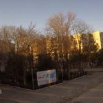 Дорожная веб-камера у площади Ленина в Белогорске