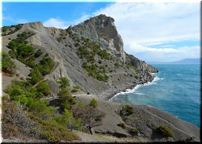 фото скалы Орел от Капчика