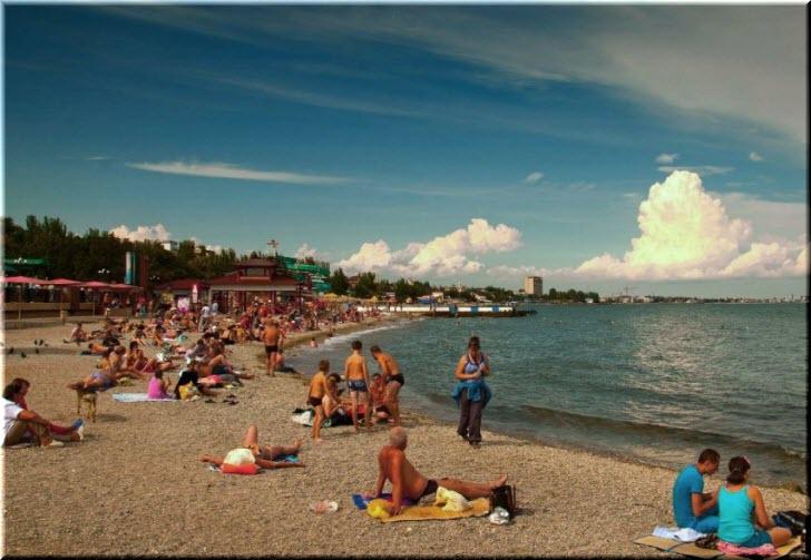 пляж Камушки