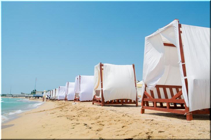 пляж Лазурный берег