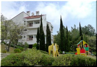 санаторий Понизовка в Крыму