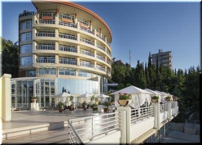 спа-отель Море в Алуште