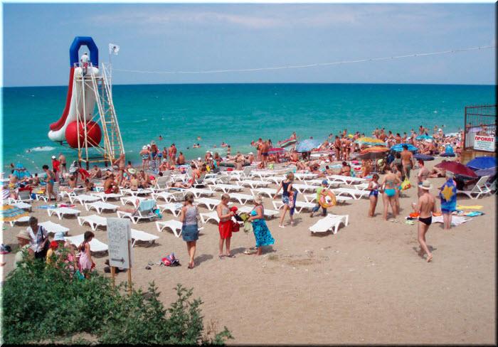 Центральный пляж Николаевки