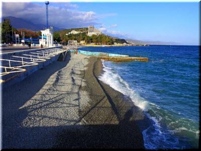 фото пляжа на Набережной