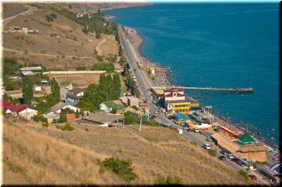 фото поселка Морское