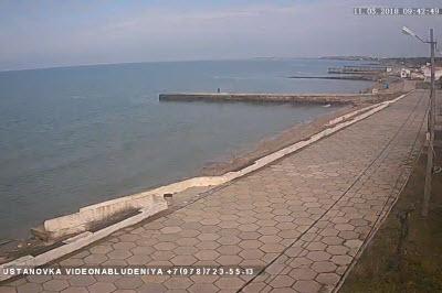 фото с камеры на набережной Песчаного
