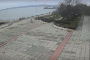 фото с камеры на набережной в Керчи