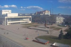 фото с камеры на пл Ленина в Симферополе