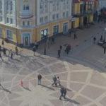 Камера на перекрестке улиц Пушкина и Маркса в Симферополе