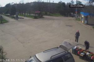 фото с камеры площадь у аллеи ГРЭС