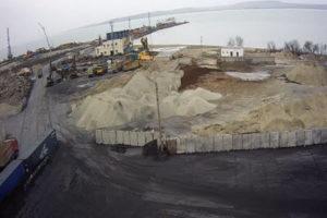 фото с камеры со стоянки у Порта Кавказ
