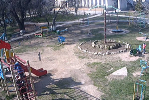 фото с камеры у Детской площадки Гвардейского