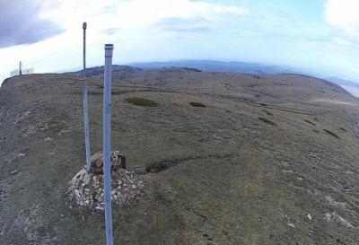 фото с камеры у окрестностей Симферополя