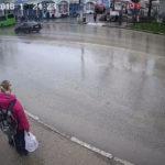 Камера движения возле остановки «Юмашева» в Севастополе