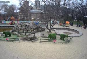 фото с камеры у парка Аленка в Керчи