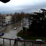 Камера движения рядом с площадью Лазарева в г. Севастополь