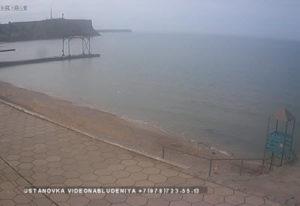 фото с камеры у пляжа в Песчаном