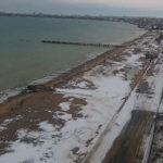 Веб-камера на пляже Золотые пески в городе Евпатория