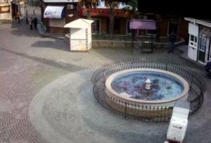 фото с камеры у пятака в Гурзуфе