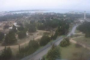 фото с камеры в Парке Победы в Севастополе