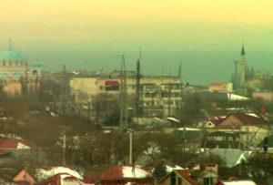 фото с обзорной камеры Евпатории