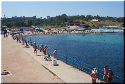 фотография с пляжа Солнечный