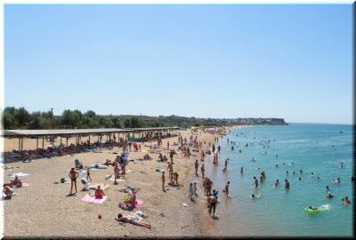 Орловский пляж