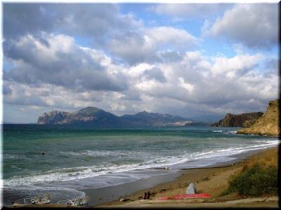 пляжи Феодосийского залива
