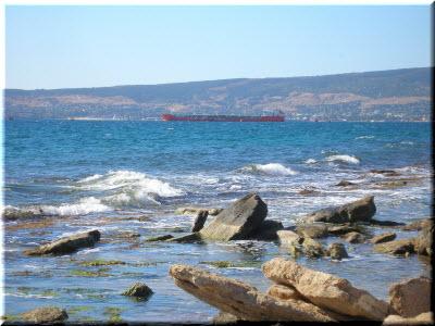 вид на залив Феодосии