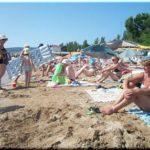 Первый городской пляж — идеальный для детей в Феодосии
