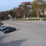 Веб-камера у Центральной площади п. Черноморское