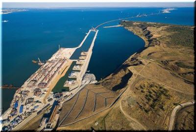 фото строительства Крымского моста