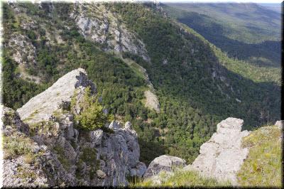 горы Крымского заповедника
