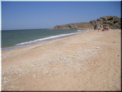 курорты Крыма на Азовском море