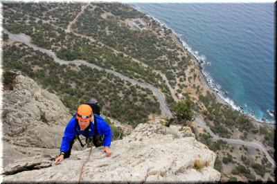 места для альпинизма в Крыму
