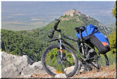 на велосипеде по Южнобережью