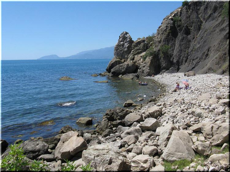 пляж в бухте Любви