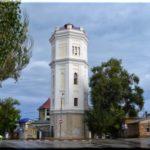 Белый бассейн — красивая водонапорная башня в Феодосии