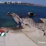 Камера у пляжа серфшколы Omega Bay в Севастополе