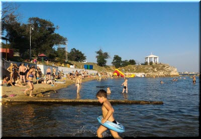 фото с Молодежного пляжа