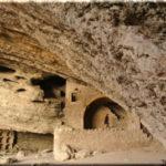 Руины пещерного монастыря возле Нового Света (Судак)
