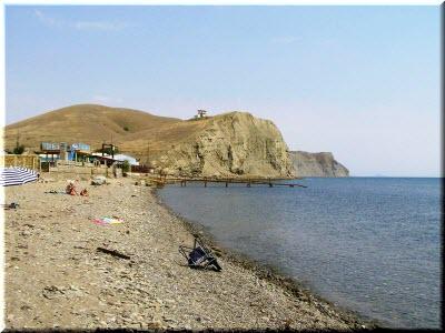 пляж бухты Бугаз