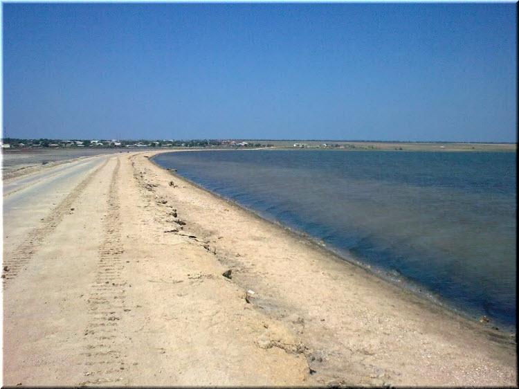 пляж Джарылгач