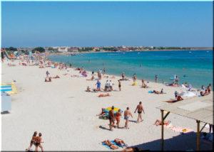 пляжи Межводного