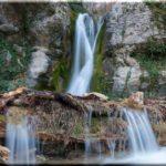 Купель Дианы — романтический водопад возле Ялты