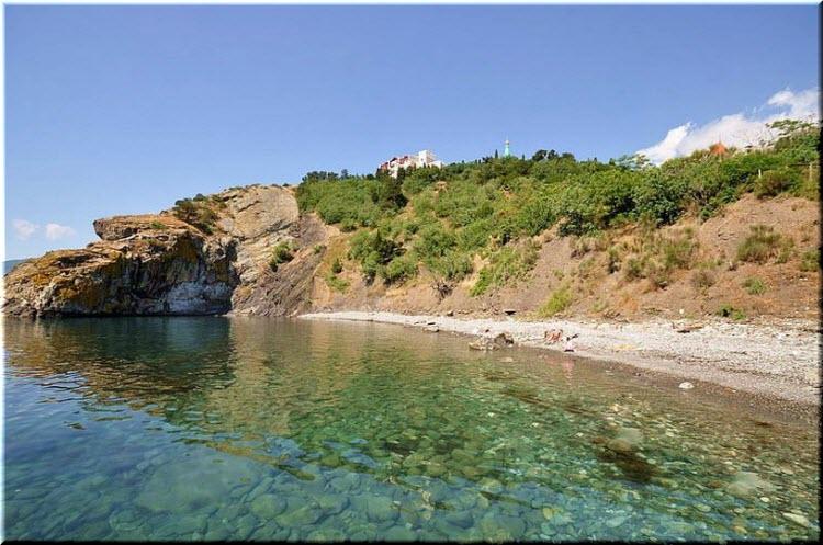 дикие пляжи Утеса