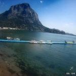 Онлайн камера у пляжа и моря в Новом Свете (Крым)