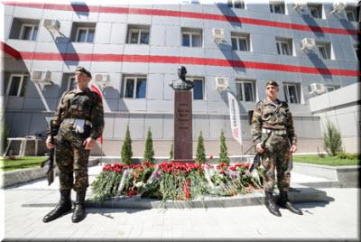 открытие памятника Беспалову в Симферополе