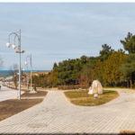 Парк Ахматовой — обновленный сквер в Севастополе у пляжа