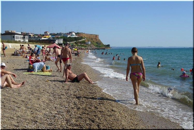 пляжи Орловки